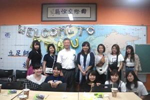 2018年度インターンシップ(台湾プログラム)報告ができました