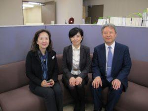 台湾・東呉大学の蘇教授が中野経済学部長を訪問(5月15日)